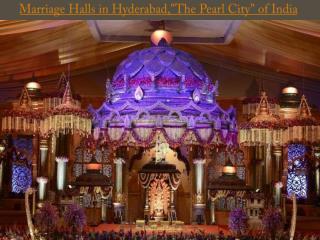 Marriage Halls in Hyderabad,