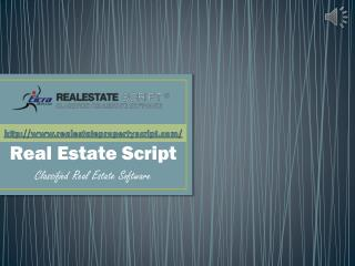 PHP Classified Real Estate Property Script by Eicra Soft