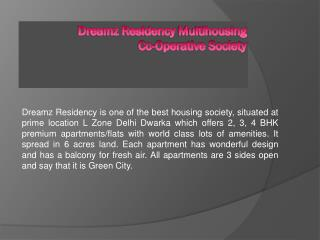 Housing Society in L Zone Delhi