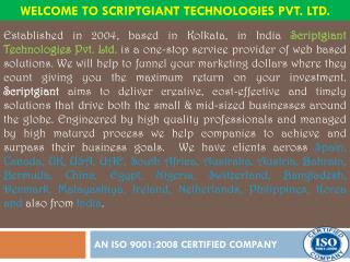 Welcome To Scriptgiant Technologies Pvt. Ltd.