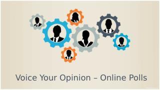 Best Tools for Online Survey- Polls