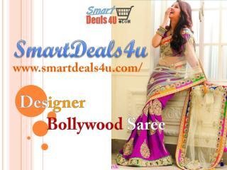 Get Designer Bollywood Saree online @ SmartDeals4u!
