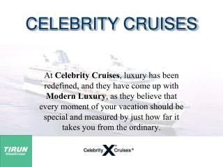 Celebrity Millennium Cruise Itinerary From Singapore | Best Cruise Delas - Tirun Travel Marketing