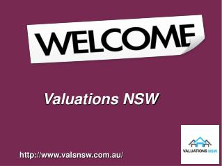 Punctual Property Valuation With Valuations NSW