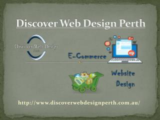 Discover Web Design Perth has Good Command in Ecommerce Web Design