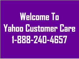 Yahoo Customer Care 1-888-240-4657 Number