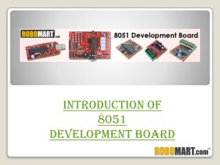 8051 microcontroller Development board kit online india l Robomart