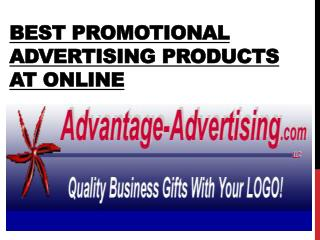 Best promotional advertising products at online