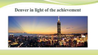 Achievements of denver