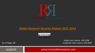 Network Security Market Development & Industry Challenges Report to 2019