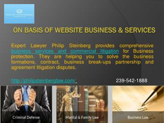 On Basis of Website Business & Services