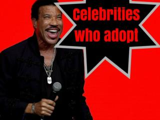 Celebrities who adopt