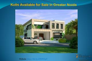Kothi for Sale in Greater Noida
