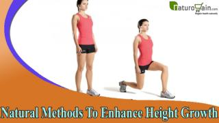 Natural Methods To Enhance Height Growth And Grow Taller By 3 To 6 Inches