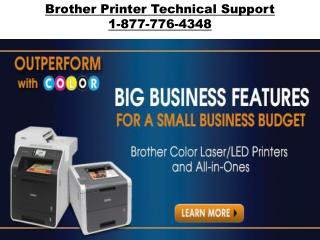 Brother Printer Support Number | 1-877-776-4348 number toll free