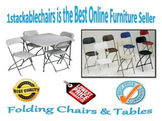 1stackablechairs is the Best Online Furniture Seller