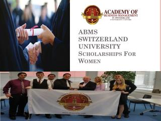 ABMS SWITZERLAND UNIVERSITY Scholarships For Women