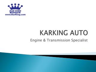 Power point presentation Karking Auto