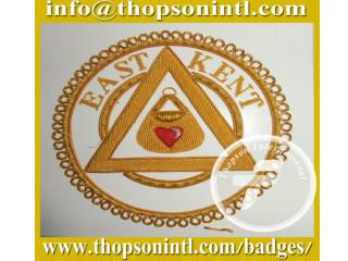 Masonic Royal Arch apron badge