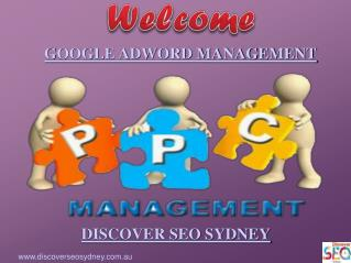 Best Google Adword Management By Discover SEO Sydney