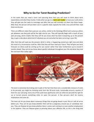Tarot Card Reader, Online Reading Courses