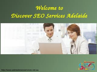 Online marketing services at Discover SEO Adelaide