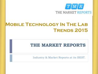 Organizations Allowing Wifi Interfaces Between Lab Instruments & Mobiles Industries Report