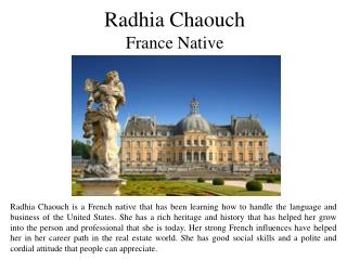 Radhia Chaouch France Native