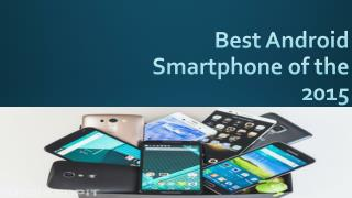 Best Android Smartphone of the 2015