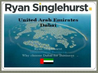 Learn the art of selling with  Ryan Singlehurst Dubai