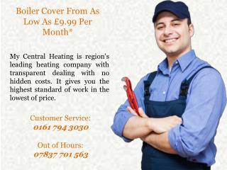 Central Heating & Boiler Repairs
