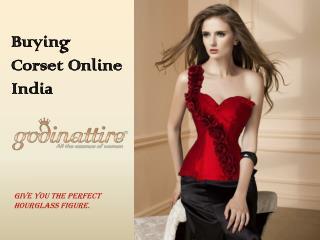 Corset Online India, Overbust Corset