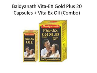 Vita Ex Oil & Vita Ex Gold Plus Combo Pack