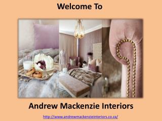 Modern Home Interior Design - Andrew Mackenzie