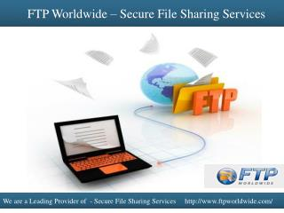 FTP Worldwide – Secure File Sharing