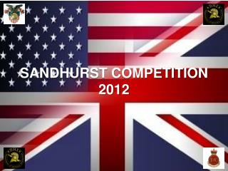 SANDHURST COMPETITION 2012