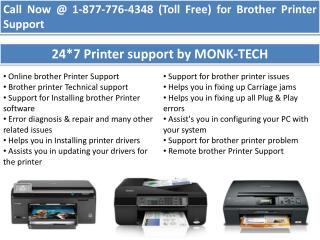 Brother Phone Number    1-877-776-4348 number toll free