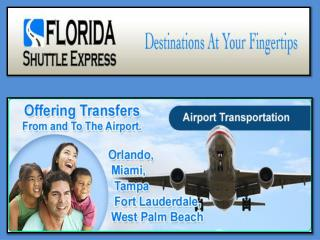 Fort Lauderdale To Port Canaveral Shuttle