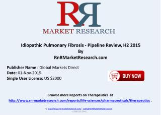 Idiopathic Pulmonary Fibrosis Pipeline Review H2 2015