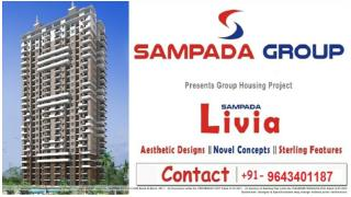 Sampada Livia Greater Noida aesthetic designs novel concepts sterling features hottest property in Greater Noida