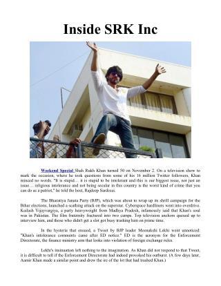 Inside SRK Inc