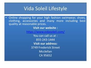 Vida Soleil Lifestyle