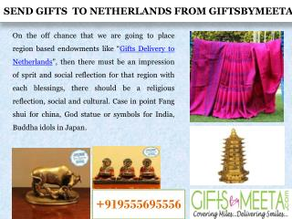 How to send online Gifts to Netherlands from Anywhere?