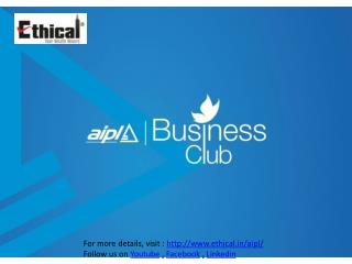 AIPL Business Club - Gurgaon - Ethical Consulting Call 921213700