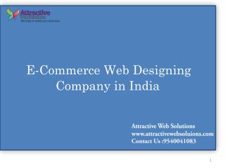 E-Commerce Web Designing Company In Delhi -We Help To Build Your Business