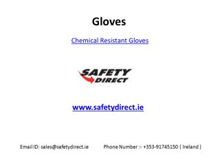 Latest Collection of Chemical Resistant Gloves in Ireland at SafetyDirect.ie