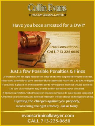 Houston dwi lawyer collin evans