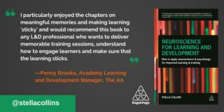 Neuroscience for Learning & Development Book