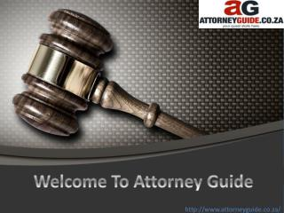 Attorney Guide for South African Attorneys