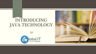 Introducing Java Technology by Global IT Experts